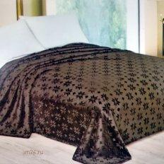 Плед из меха Luxury шоколад Нежный сон