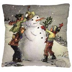 Подушка декоративная 40 x 40 Зимняя забава
