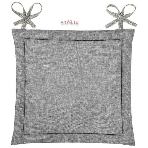 Подушка для стула HS рогожка 40x40 Базальт