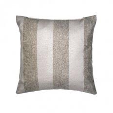 Подушка декоративная 40 x 40 рогожка зебра-шоколад