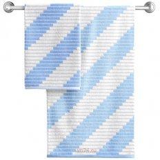 Полотенце махровое Aquarelle Сиэтл Светло-васильковый