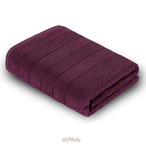 Полотенце махровое Verossa Milano темно-бордовый