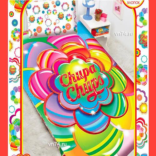 Детское постельное белье Mona Liza Chupa-Chups Цветок (бязь-люкс)