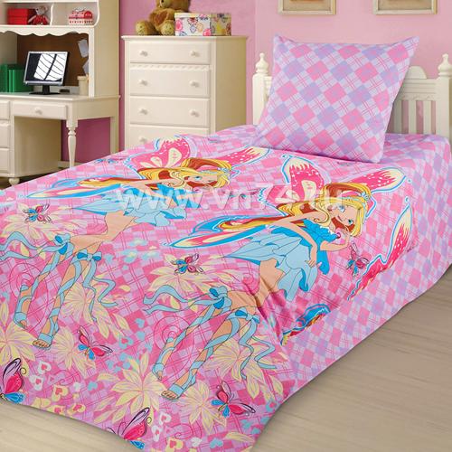 Детское постельное белье Феи-подружки (бязь-люкс)