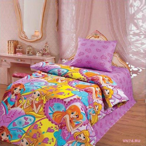 Детское постельное белье Фея (бязь-люкс)