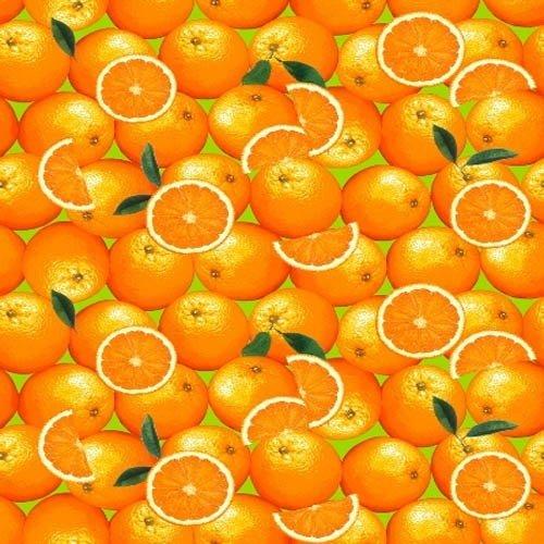 Полотенце вафельное 35x70 Апельсины