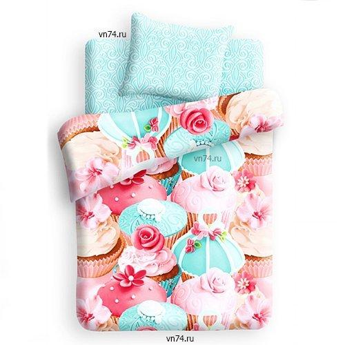 Детское постельное белье Капкейк (бязь-люкс)