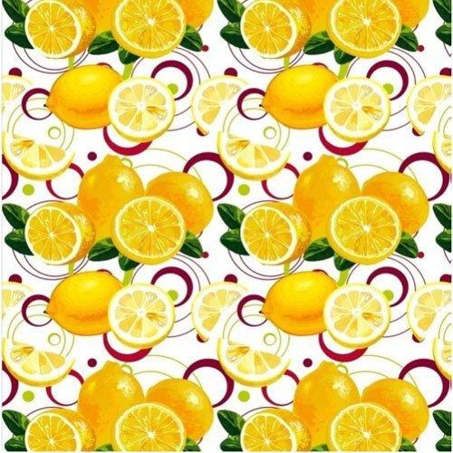 Полотенце вафельное 35x70 Лимоны