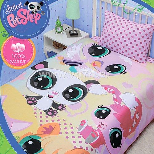 Детское постельное белье Mona Liza Littlest PetShop (бязь-люкс)