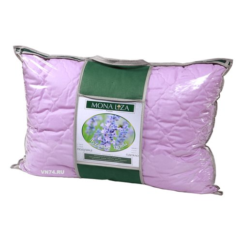 Подушка пуховая с луговыми травами Mona Liza Premium