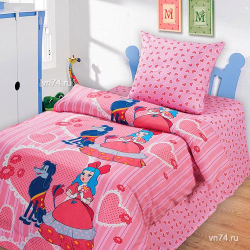 Детское постельное белье Мальвина (бязь-люкс)