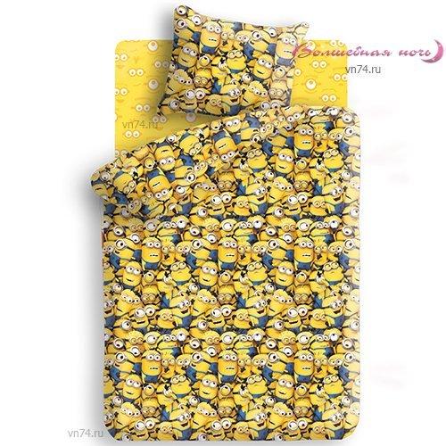 Детское постельное белье Миньоны (бязь-люкс)