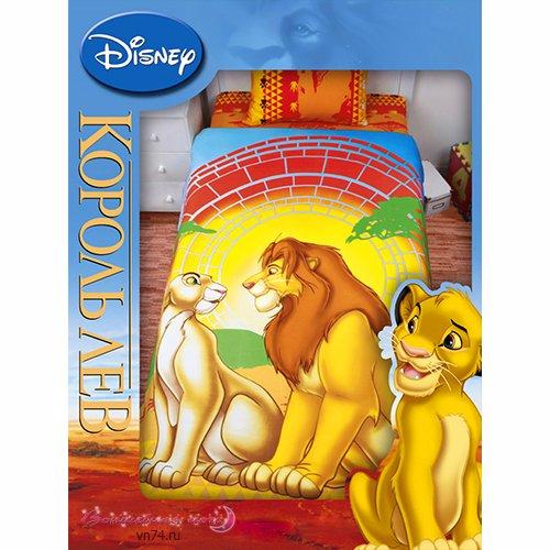 Детский плед Disney Король лев 2 (флис)