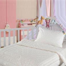 Детская подушка 40 x 60 Облачко микроволокно (перкаль)