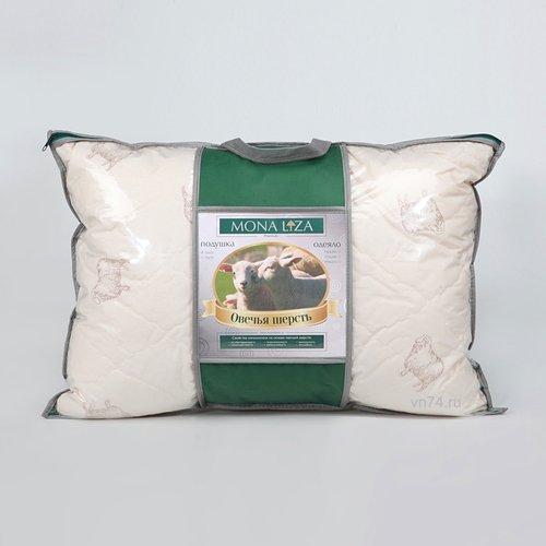 Подушка овечья шерсть Mona Liza Premium