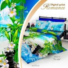 Постельное белье 3D Romance Бамбук (сатин)