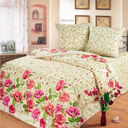 Постельное белье Любимый дом Тюльпаны (бязь-гост)