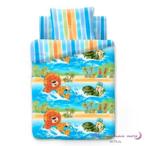 Детское постельное белье Водные катания (бязь-гост)