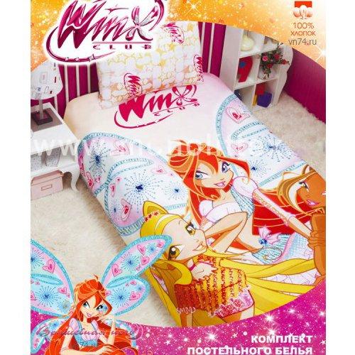Детское постельное белье Mona Liza Winx Fery (бязь-люкс)
